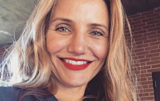 47-летняя Кэмерон Диаз впервые стала мамой