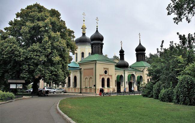 Киевская власть вводит карантин в Ионинском монастыре
