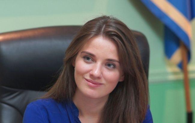 Фото: начальник Одесской таможни Юлия Марушевская