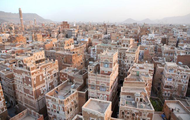 Фото: город Сана в Йемене