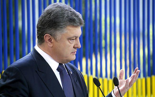 Порошенко: мы не собираемся торговать санкциями против РФ