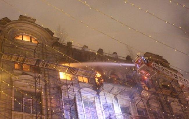 Пожежа в Києві: Мінкульт просить мерію викупити історичну будівлю біля ЦУМ
