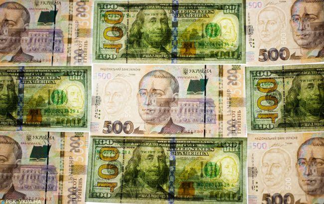 НБУ опустив курс долара нижче за 28 гривень
