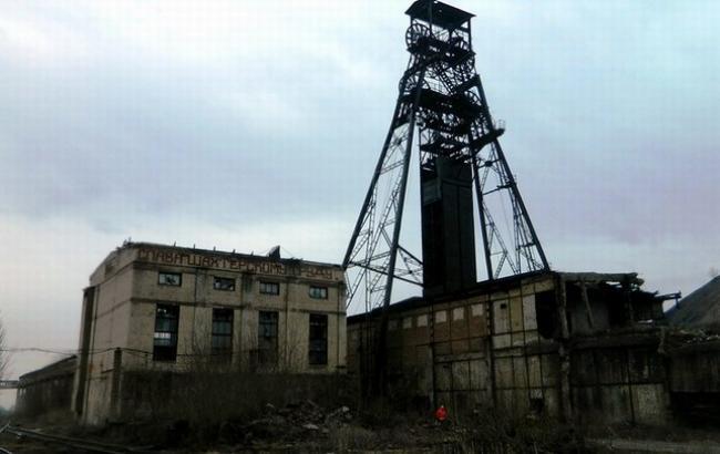 Фото: неработающая шахта