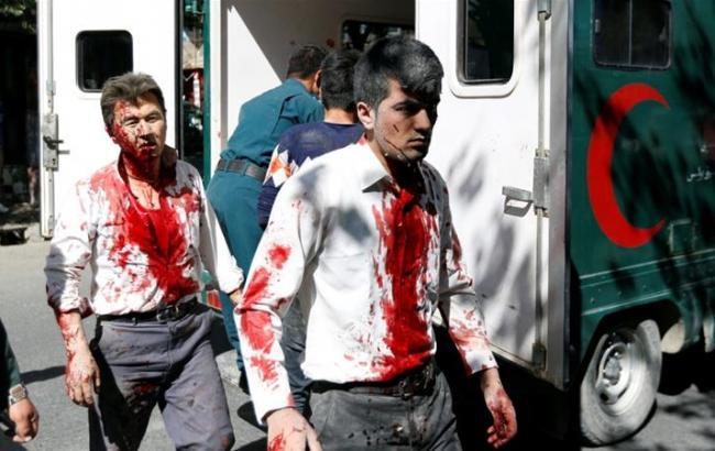 Вибух у Кабулі: кількість загиблих зросла до 80 осіб
