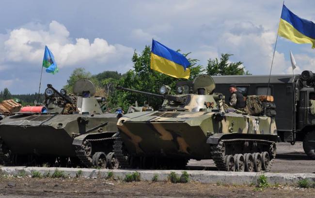 Фото: українські військові (facebook.com/GeneralStaff.ua)