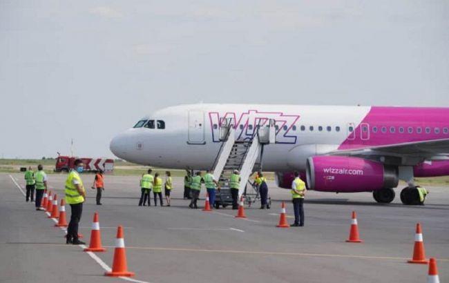 Аеропорт Запоріжжя прийняв перший прямий рейс із Будапешту