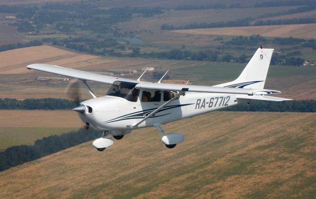 Фото: в Португалии разбился легкомоторный самолет