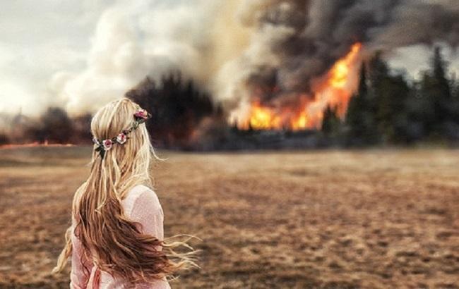 Фото: українців попередили про небезпеку пожеж