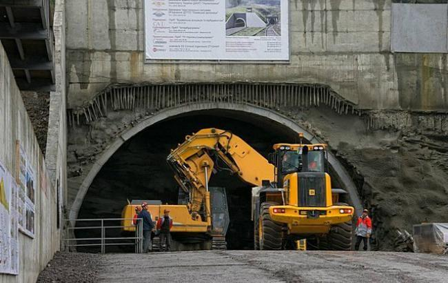 Фото: Бескидський тунель