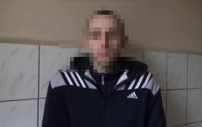 Фото: задержанный боевик присоединился к ДНР весной 2014