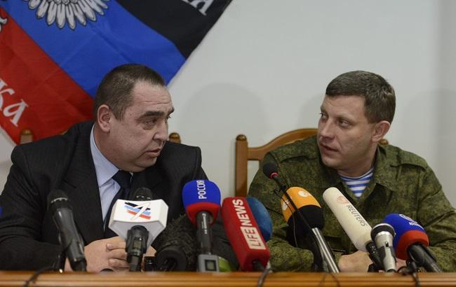 Фото: Плотницкий и Захарченко отреагировали на признание в РФ документов ЛНР/ДНР
