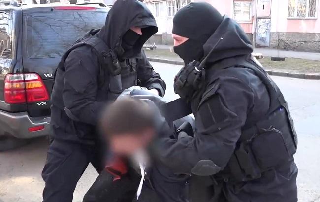 Фото: затримання наркоторговців в Одесі