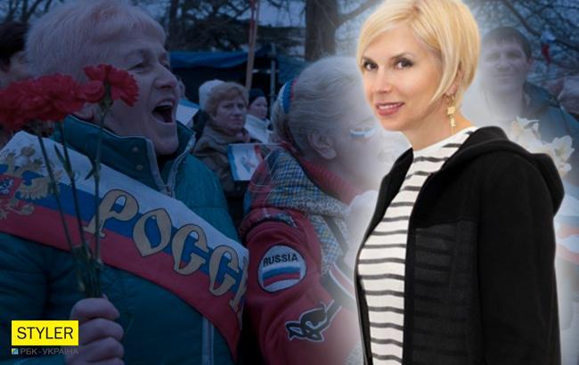 """Відома російська співачка розповіла про """"махровий совок"""" в Криму"""