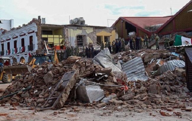 Фото: наслідки землетрусу в Мексиці (AP)
