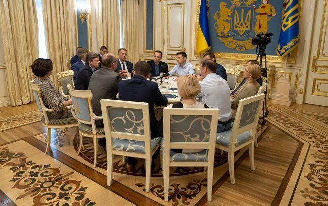 АП опублікувала стенограму зустрічі Зеленського з лідерами фракцій