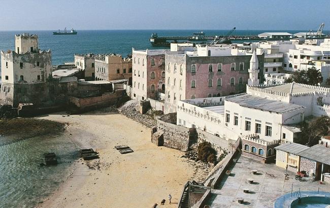 Фото: сомалийская столица Могадишо
