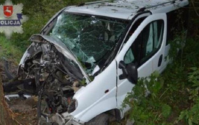 Фото: последствия аварии