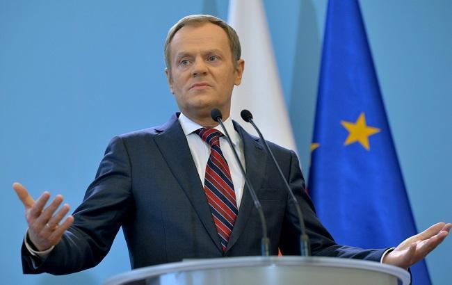 Фото: Дональд Туск висловився щодо кризи мігрантів у Європі