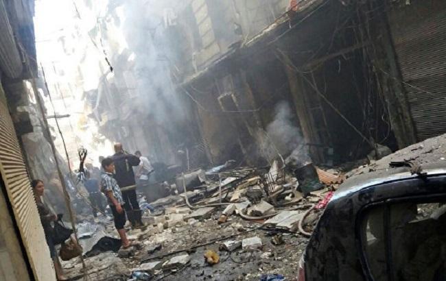 Фото: Алеппо после обстрелов