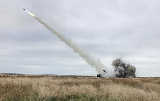 Фото: ракетные испытания ВСУ