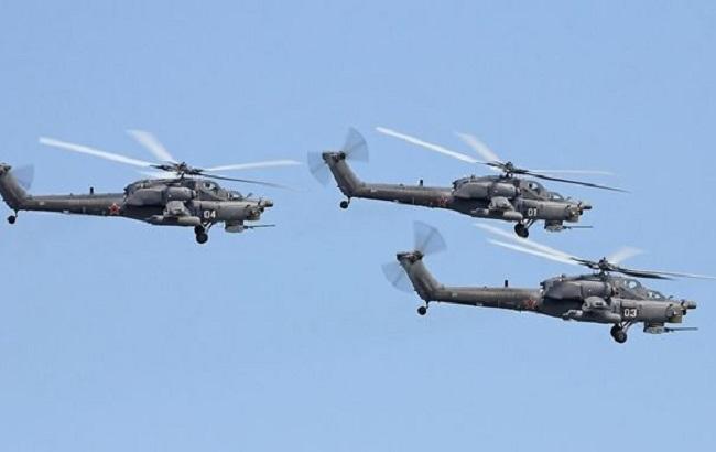 ГПСУ передает обактивизации русской авиации около Крыма