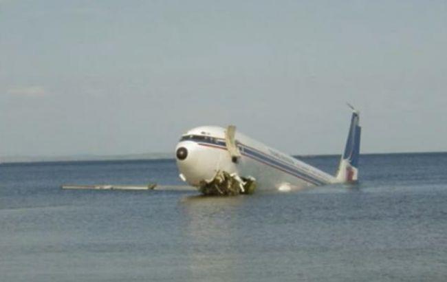 Фото: катастрофа российского Ту-154