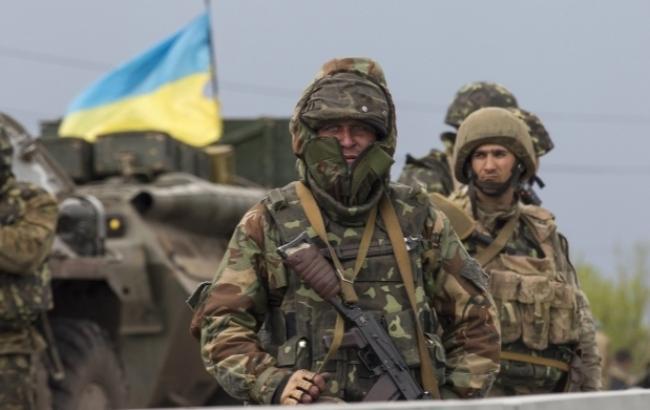 Фото: Бойцы АТО (Kriza.com.ua)