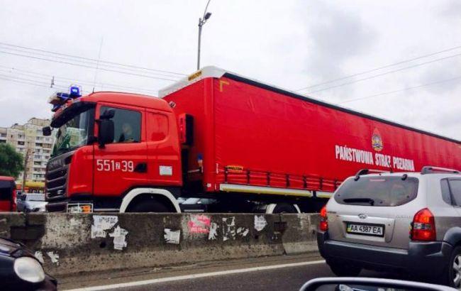 Фото: пожежна техніка з Польщі