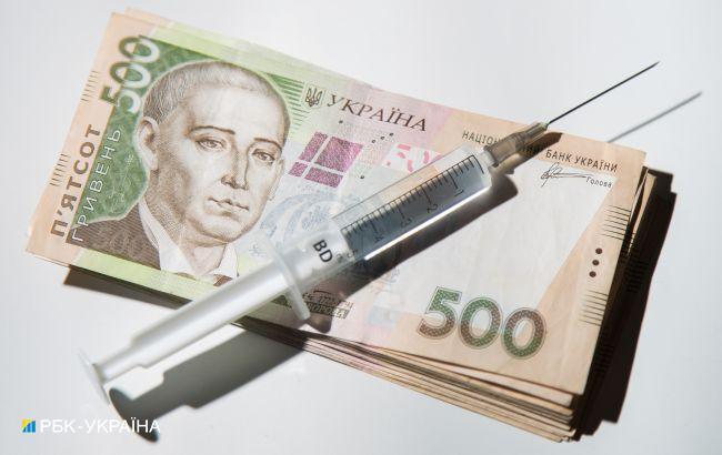В этом году Украина потратила более 30 млрд гривен на борьбу с COVID