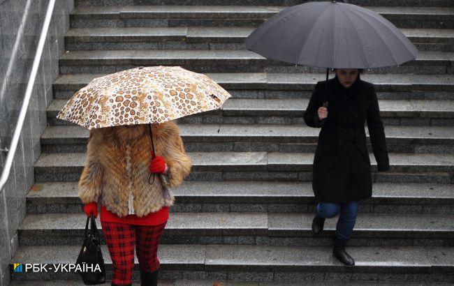 Україну накриють дощі з грозами: прогноз погоди на сьогодні