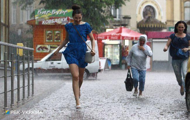 В Киеве ночью ожидаются значительные дожди