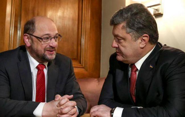 ЕСготов ввести с государством Украина безвизовый режим— Мартин Шульц