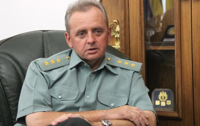 Фото: Муженко сообщил о завершении ракетных стрельб возле Крыма