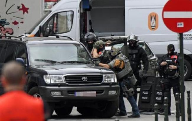 Фото: спецоперація в Брюсселі