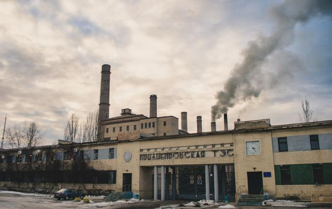 ВУкраинском государстве из-за дефицита угля приостановила работу ПриднепровскаяТС