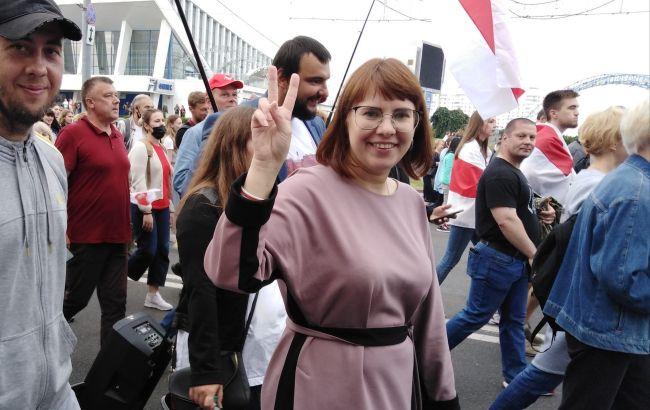 Заарештовану опозиціонерку Ковалькову насильно вивезли з Білорусі