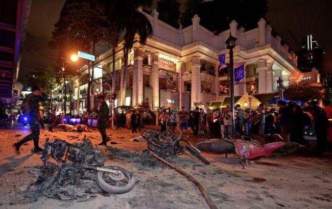 Мощный взрыв прогремел в центре Бангкока