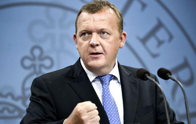 Фото: премьер-министр Дании Ларс Лекке Расмуссен