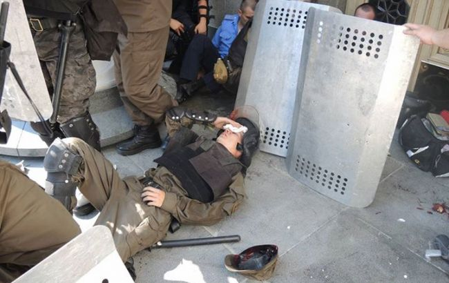 Зіткнення під Радою: постраждали близько 50 нацгвардійців