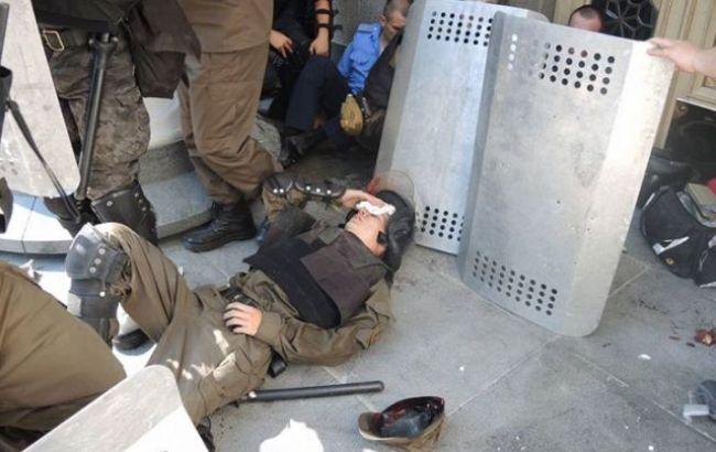 У сутичках під Радою поранений 141 людина, - МВС