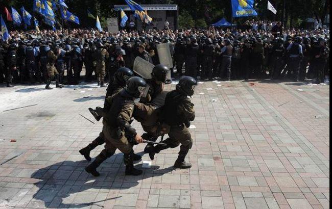"""МВД идентифицировало """"свободовцев"""", участвовавших в столкновениях под Радой"""