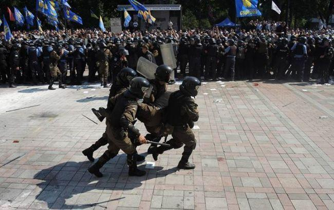Фото: столкновения под Радой