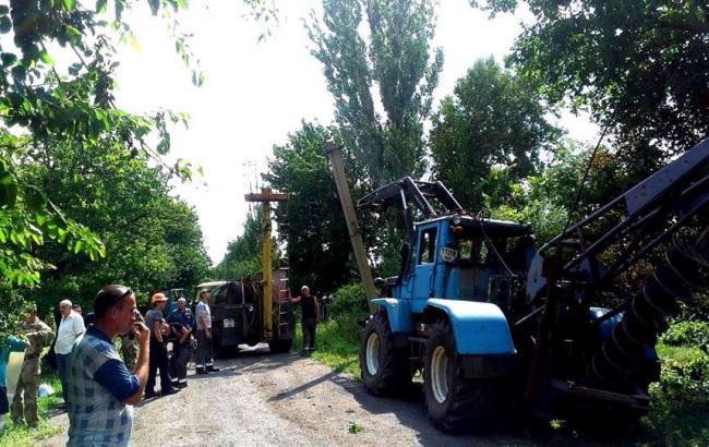 Фото: Восстановление разрушенной инфраструктуры на Донбассе