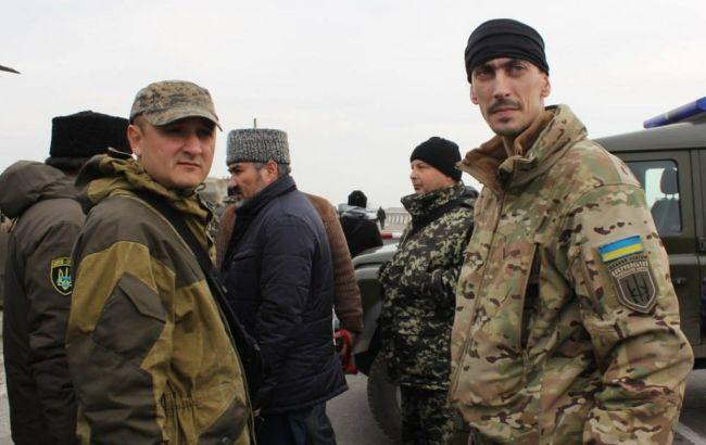 """""""Правий сектор"""" заявив про припинення участі в блокаді Криму"""