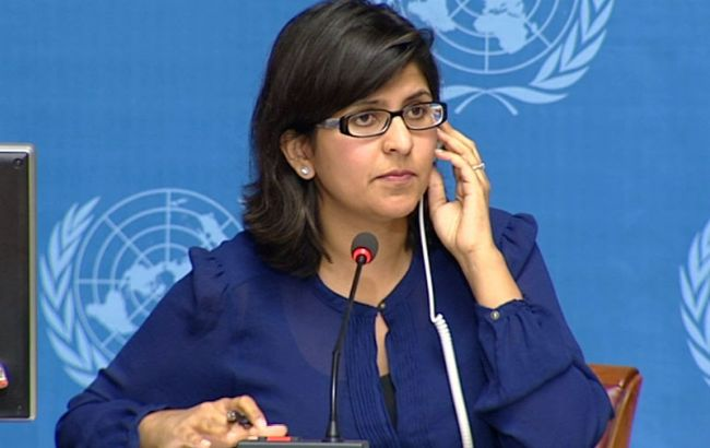 Фото: пресс-секретарь ООН Равина Шамдасани