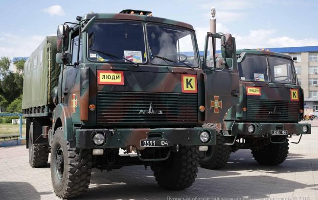 Фото: гуманитарная помощь от Литвы (loga.gov.ua)