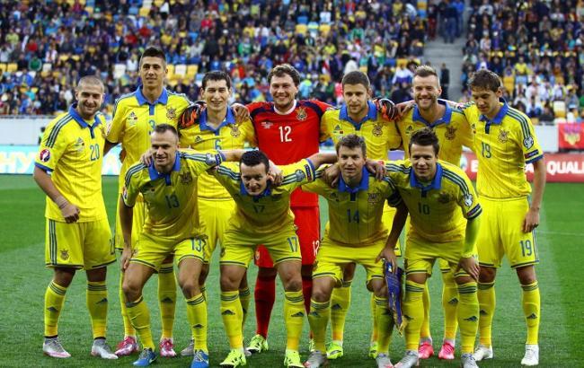 Україна втратила шість позицій у рейтингу ФІФА