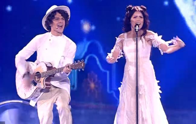 Фото: Група NaviBand (Скріншот із відео/youtube.com/Eurovision Song Contest)