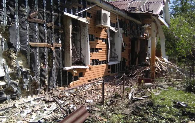 Фото: последствия обстрелов Красногоровки
